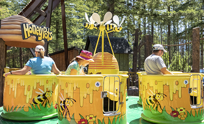 Honey Pots at Cultus lake Adventure park