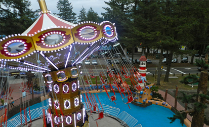 Wave Swinger at Cultus lake adventure park