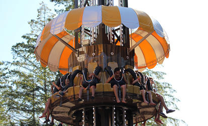 Windmill drop at cultus lake adventure park