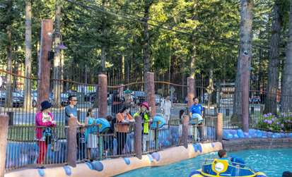 Master Blasters - water fun at Cultus Lake Adventure Park