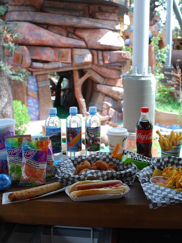 Food at Cultus lake Adventure Park