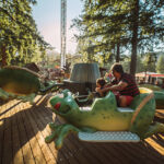 Ribbit - Frog Ride at Cultus lake Adventure park - rides for all ages