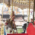 Carousel at Cultus Lake Adventure Park - rides for all ages